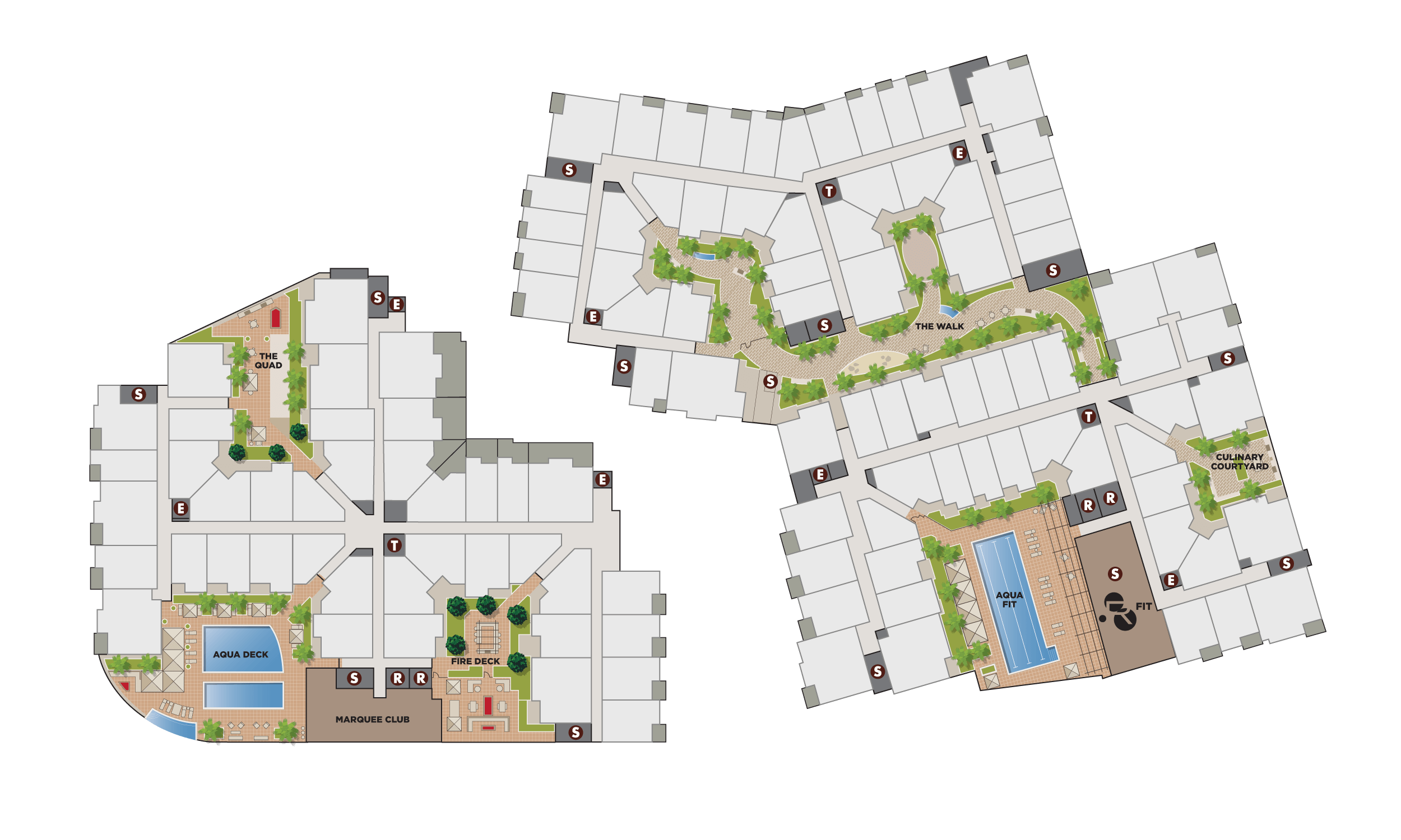 Site Plan Podium