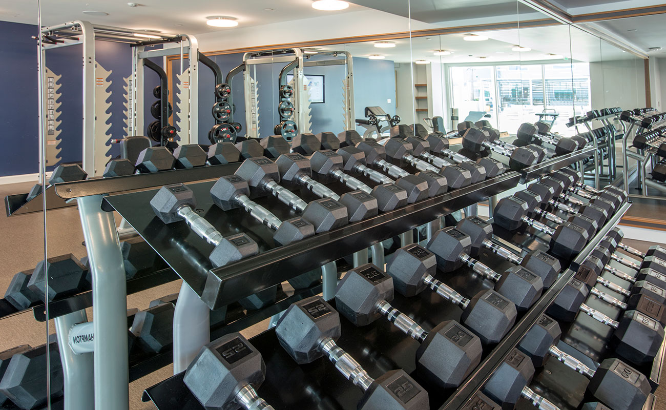 R Fit Indoor Amenities