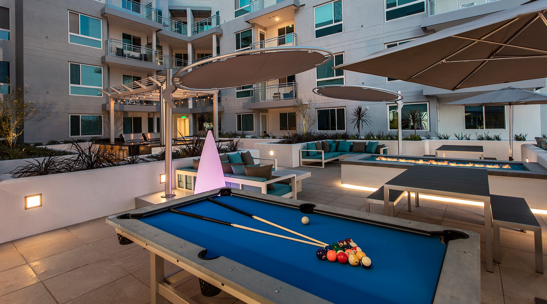 The Royce - Outdoor Pool Table and Shuffleboard